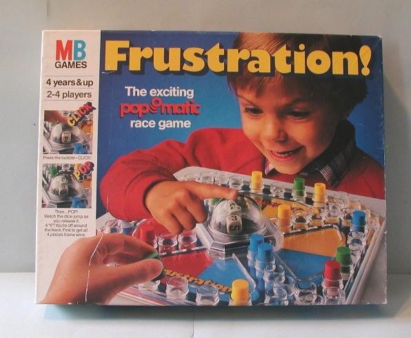 board game frustration