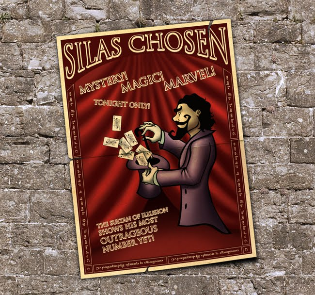 O Portfólio de Silas Chosen