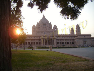 Umaid Bhavan Palace of Jodhpur in India