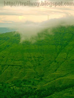 Clouds at Panchgani in India