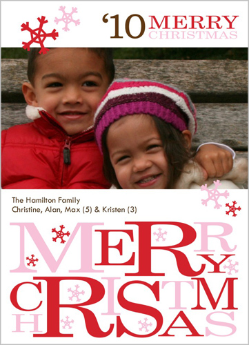 while looking around at the different options i also noticed that shutterfly has christmas invitations available a great way to incorporate a picture into - Shutterfly Xmas Cards