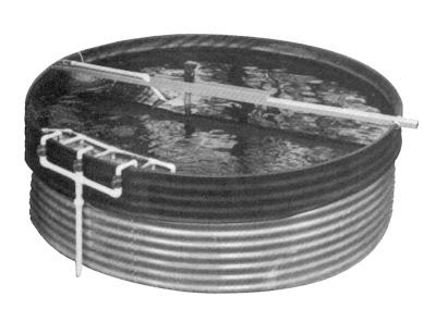 T cnico en acuicultura tipos de contenedores for Jaulas flotantes para piscicultura
