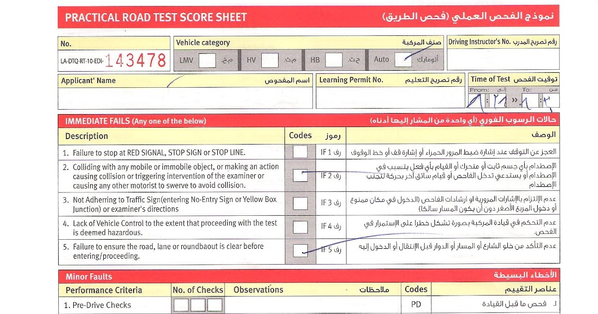 Driving License Theory Test