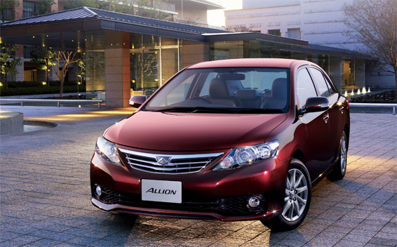 the toyota allion the toyota motor co designed the toyota