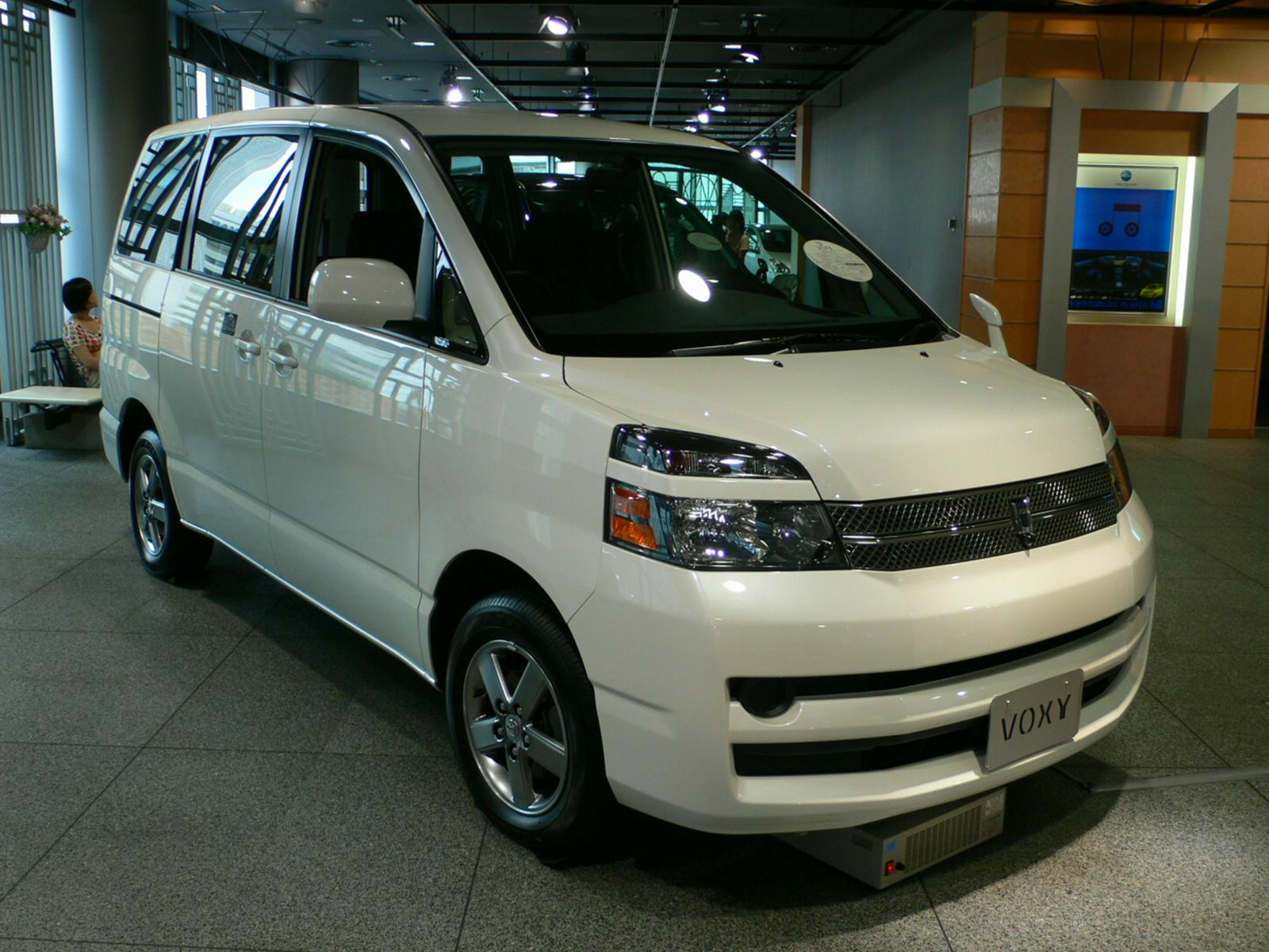 Front View of the Voxy