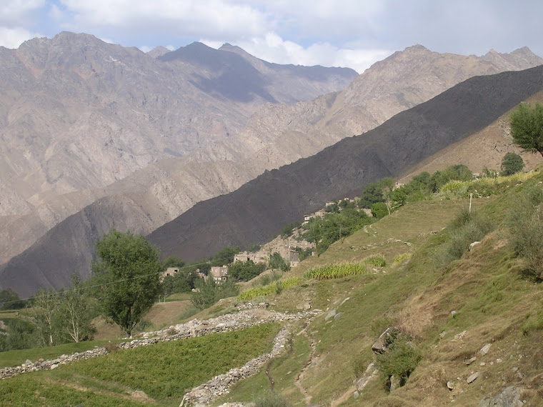 The hill of Panjshir