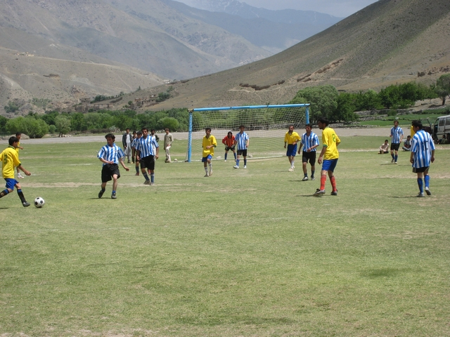 Football in Panjshir