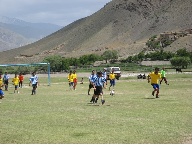 Football Team in Panjshir