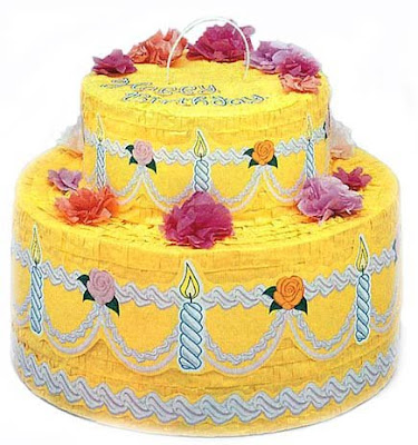 satirebylillpop: Bush's Yellow Cake Birthday Surprise!