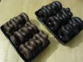 turta dulce Weiss: in forme de inimioare, covrigei si stelute invelite in ciocolata cu lapte/ ciocolata neagra