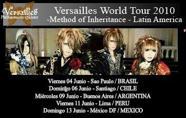 Versailles listo para America Latina