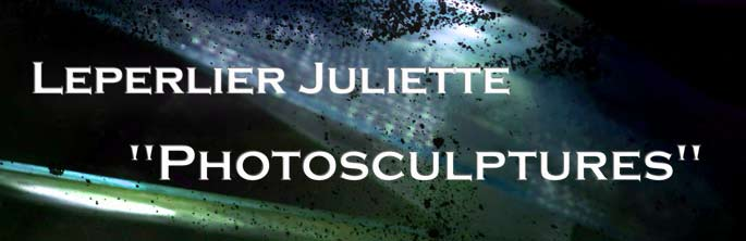 "Leperlier Juliette ""Photosculptures"""