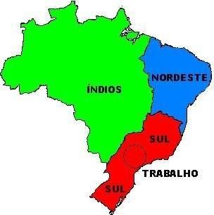 Qual a sua visão sobre o Nordeste do Brasil?  - Página 2 Mapa+do+Brasil+-+segundo+os+nordestinos