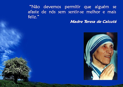 Blog Do Carzem Frase De Madre Teresa De Calcutá