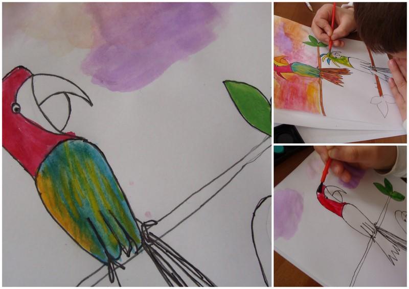 Au fil des jours dessiner un oiseau - Dessiner un oiseau ...