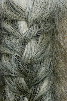 Loosely Plaited Horse Tail