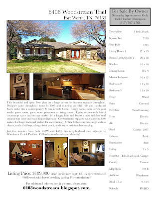 For Sale By Owner Flyers. For Sale By Owner Flyer. Here is a flyer for the house. Call for a showing!