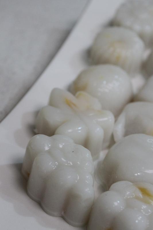 More than Words: Mango Coconut Agar Agar/Jelly