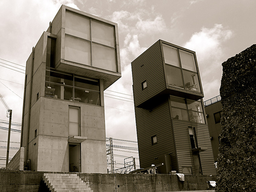 Won S Atelier 4x4 House By Tadao Ando