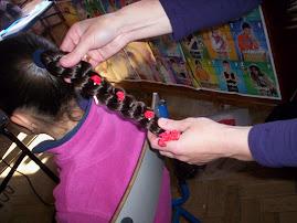 De novo a cabeleireira