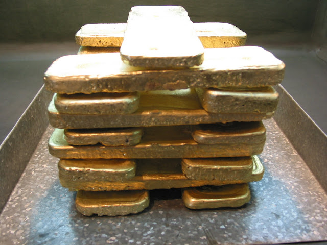 золото чукотки в слитках много