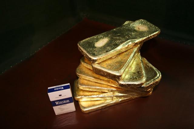 золото чукотки в слитках веер