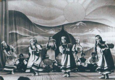 """Эскимосские миниатюры. Первый состав """"Эргырон"""""""
