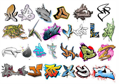 Graffiti Alphabet Brush