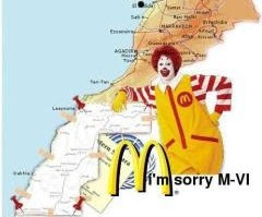 ¡Si McDonald's entra, salte tú! ¡Sahara libre vencerá!If Mcdonald's gets in, you should get out!