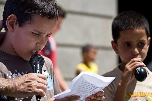 Pincha en la imagen para ver el album de la Manifestación. Tenerife 11 de julio de 2009