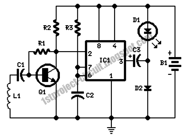 project circuit design  cellular phone calling detector
