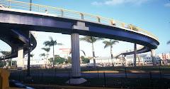 Puente Peatonal  Av. Winston Churchill - J.F.Kennedy