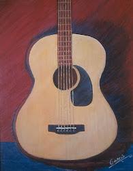 La guitarra de las cuerdas doradas