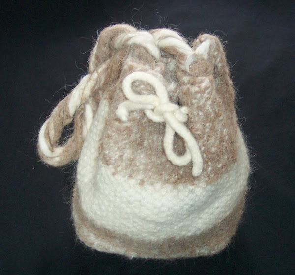 Felted bag, purse