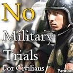 لا للمحاكم العسكريه !