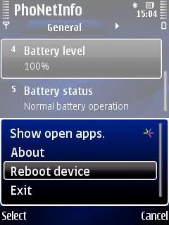 PhoNetInfo, JBak TaskMan, Symbian, Nokia, S60