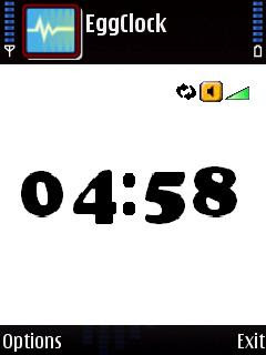 Countdown timer and stopwatch for Symbian S60 mobile phones: EggClock and Timers