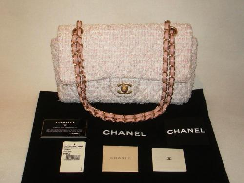 Chanel Tweed Classic Bag On Ebay