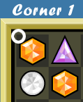 bejeweled bot first corner