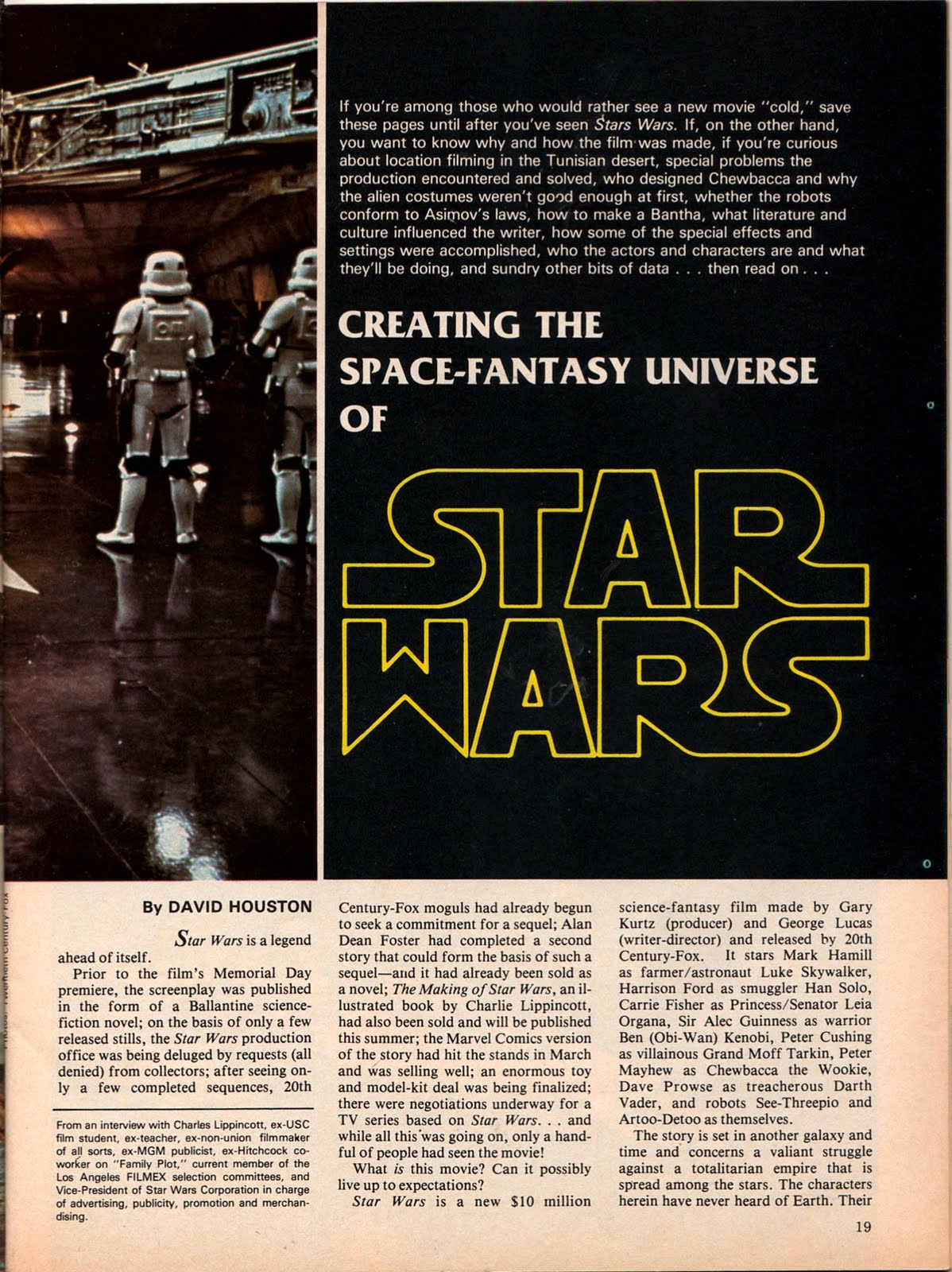 STARLOG # 6 MAGAZINE 1977 ROBERT HEINLEIN INTERVIEW RODDY McDOWALL STAR TREK