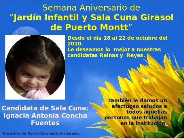 Blog de puerto montt semana aniversario jard n girasol for Sala girasol