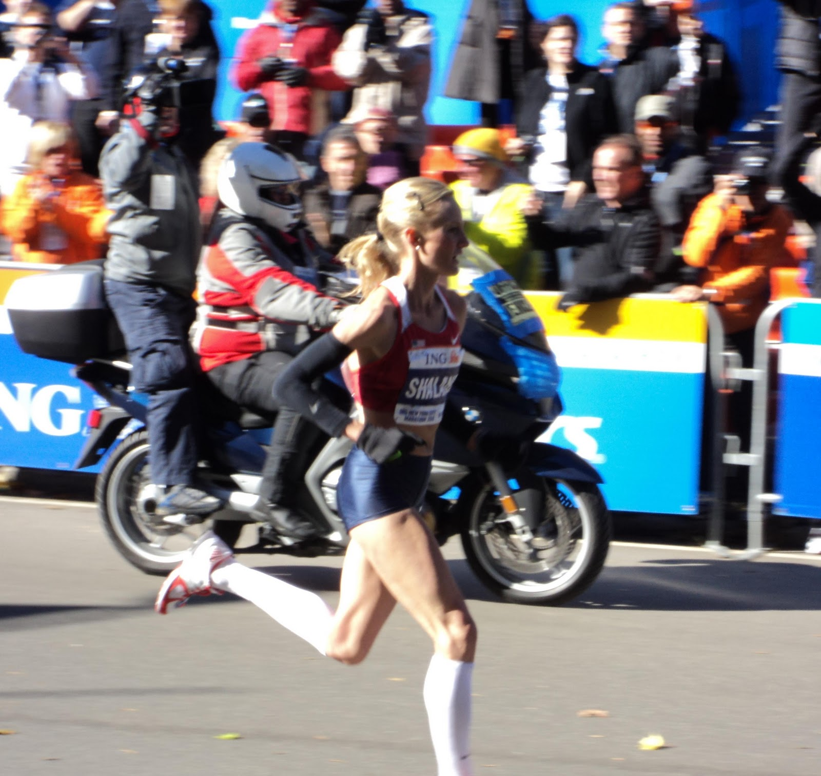 of Shalane Flanagan in her
