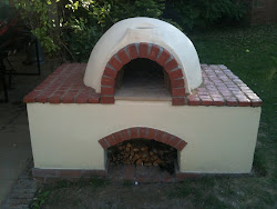 The finished Oven !