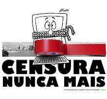 Contra a censura que o jornal Folha da Manhã tenta impor a este blog na Justiça!
