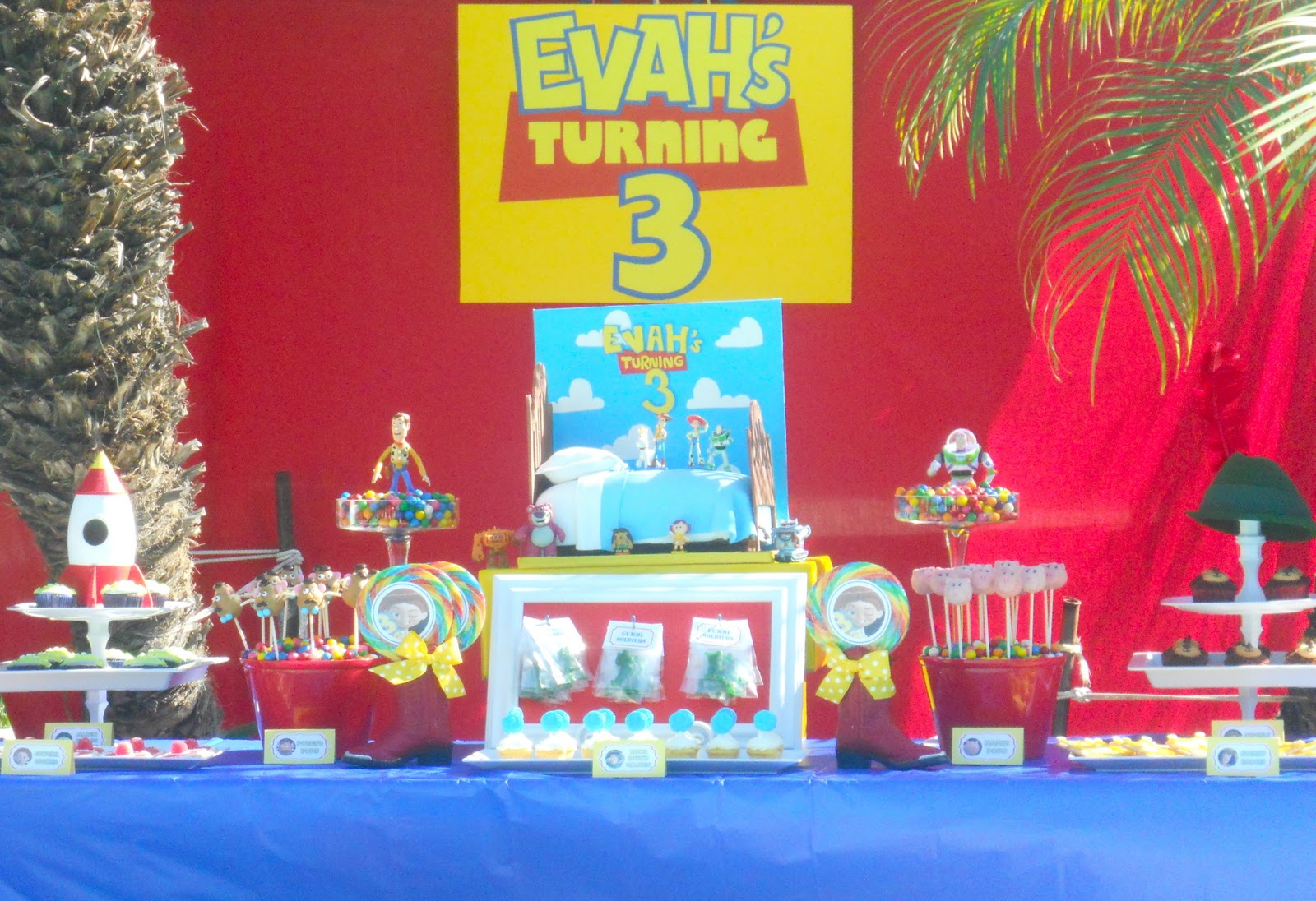 Oh Sugar Events Toy Story Birthday
