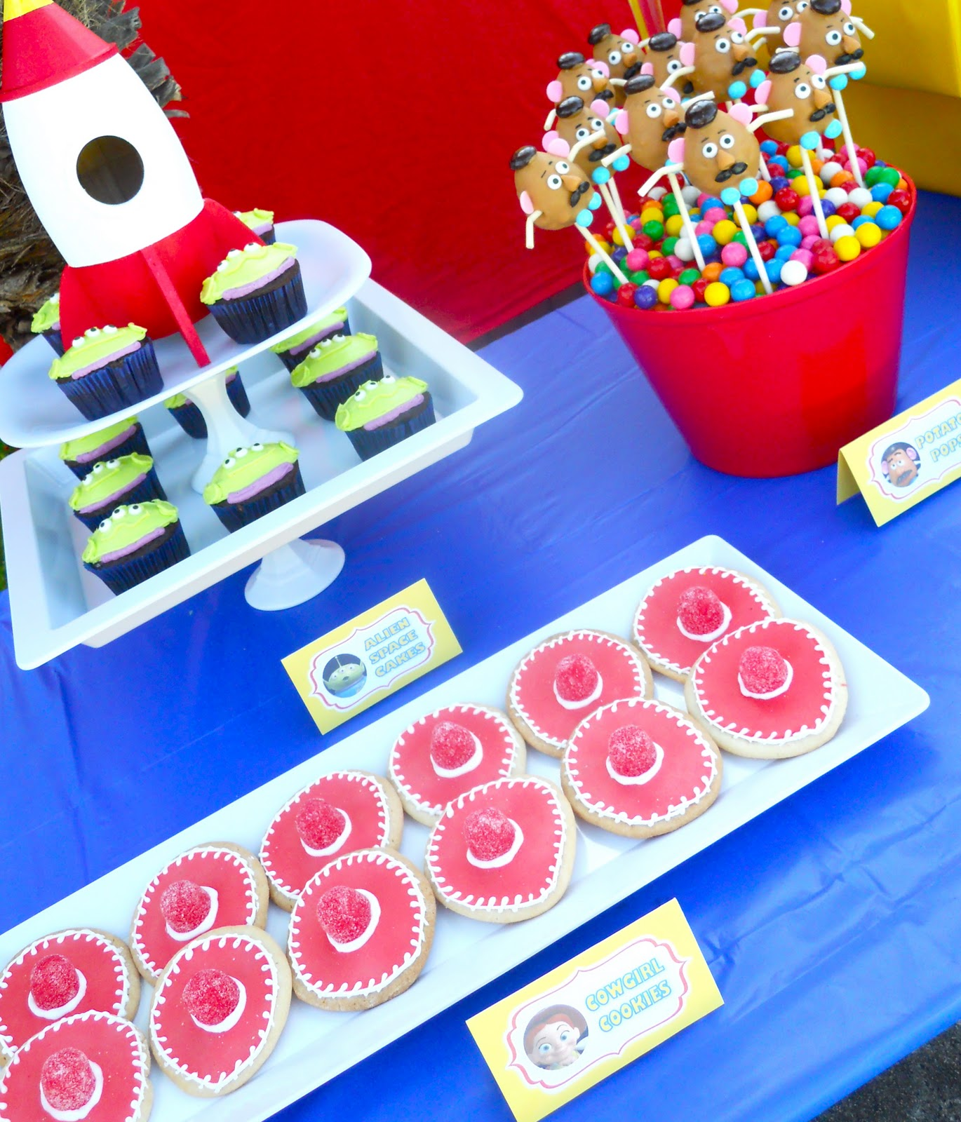 Toy Story Birthday Party : Oh sugar events toy story birthday