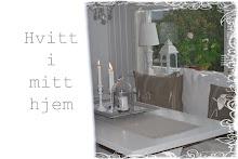 Hvitt i mitt hjem