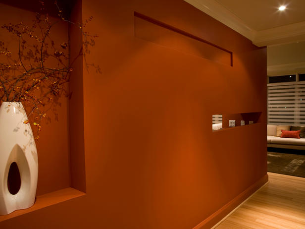 Rust Colored Paint Bedroom