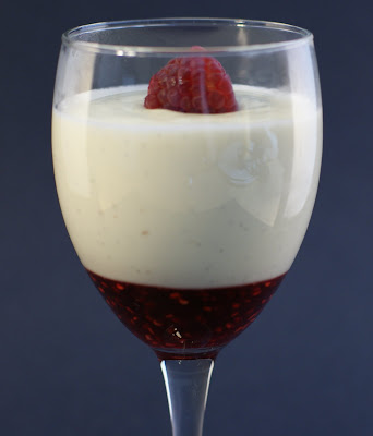 The Merlin Menu: Vanilla Cream Cheese Panna Cotta w ...