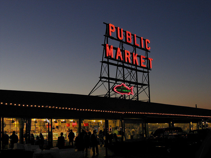 Best Pike Place Market Paintings Maies